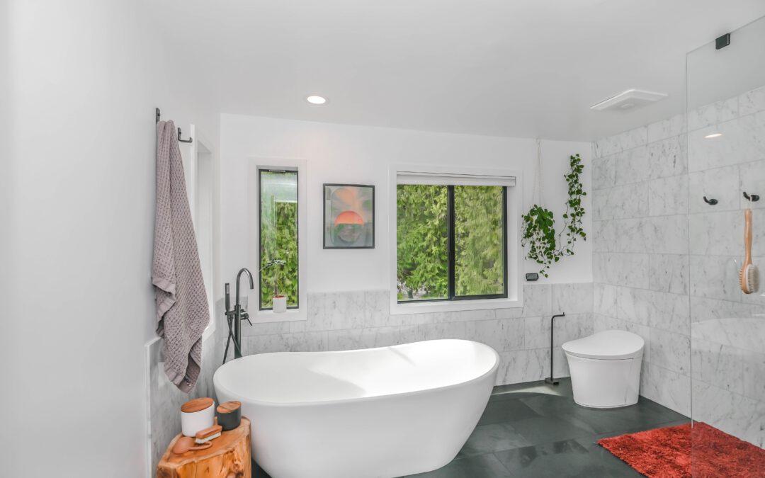 Zelf maken: Een betonlook badkamer